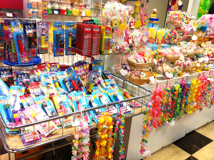 Rilakkuma In Convenience Stores Japanese Candy Shops