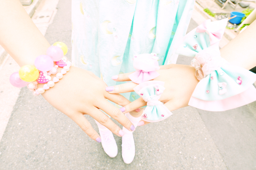 A Free Day with Fairy-kei Girls, Gals and Lolita Marie in Harajuku ...