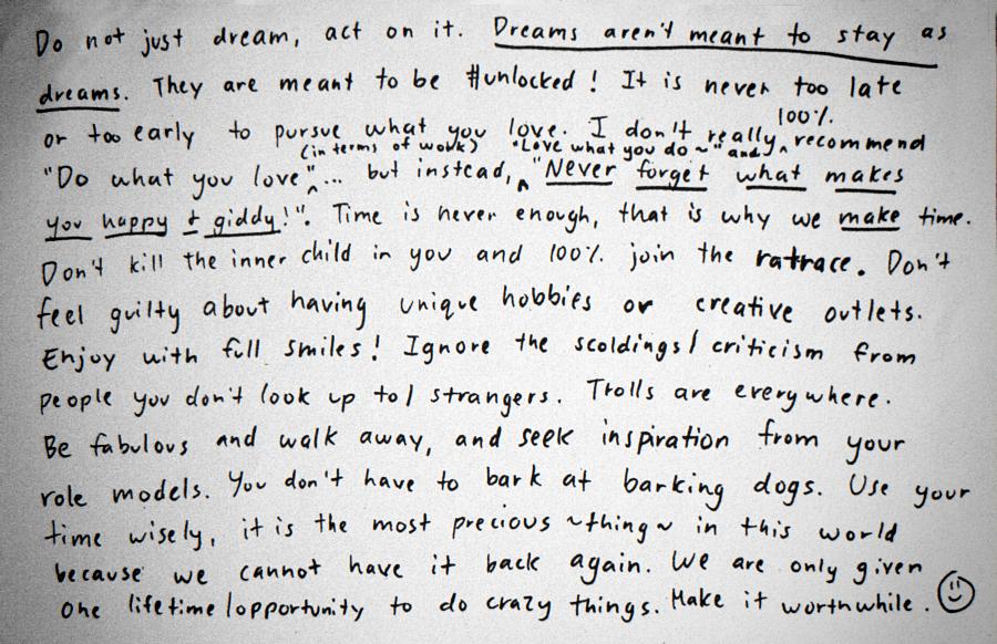 Rainbowholic Booklet of Dreams