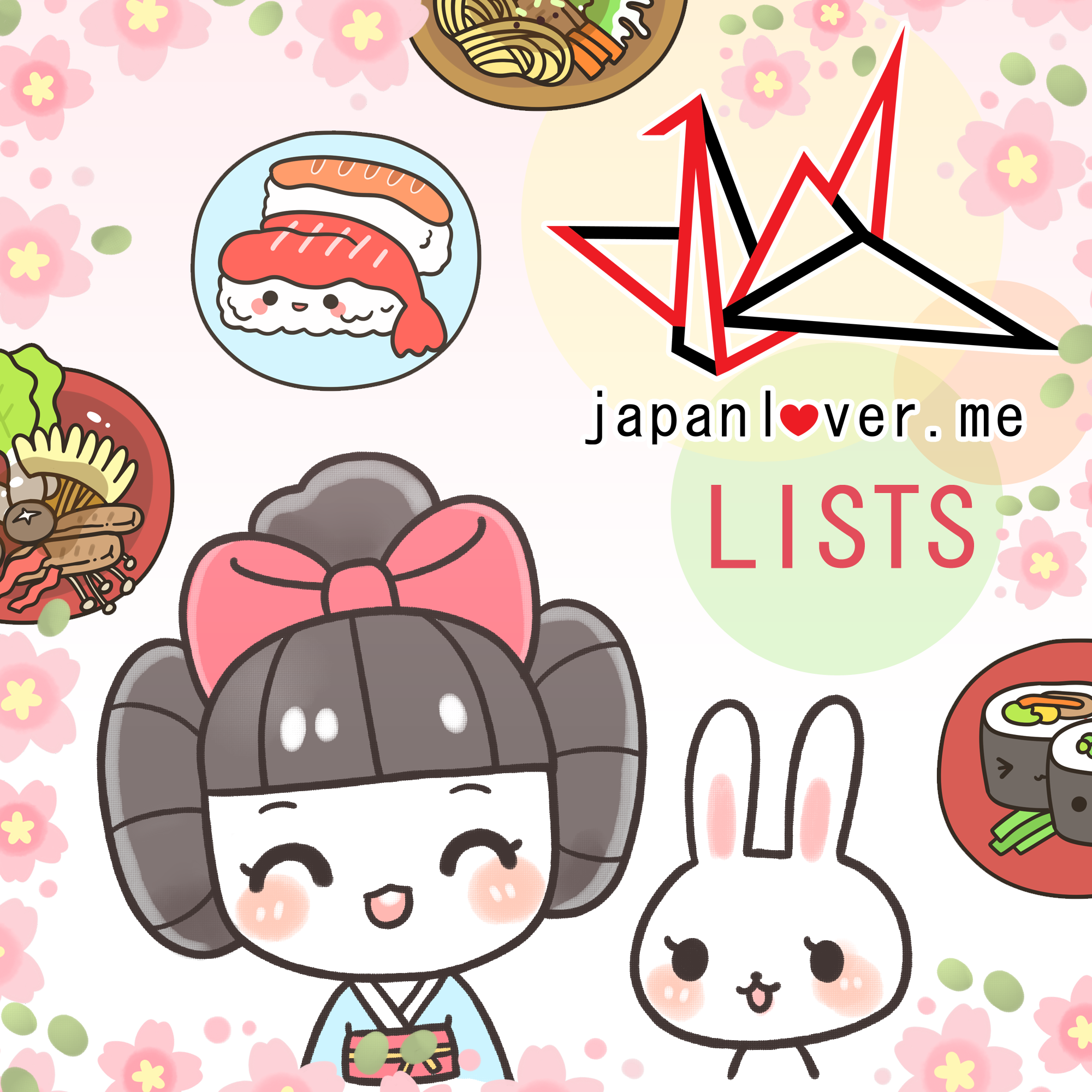 JAPAN LOVER ME LISTS