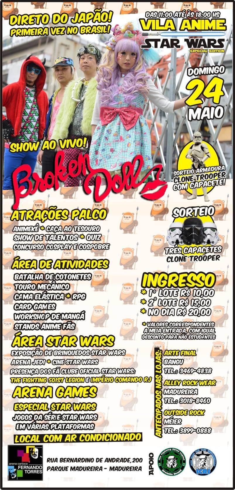 Broken Doll Brazil
