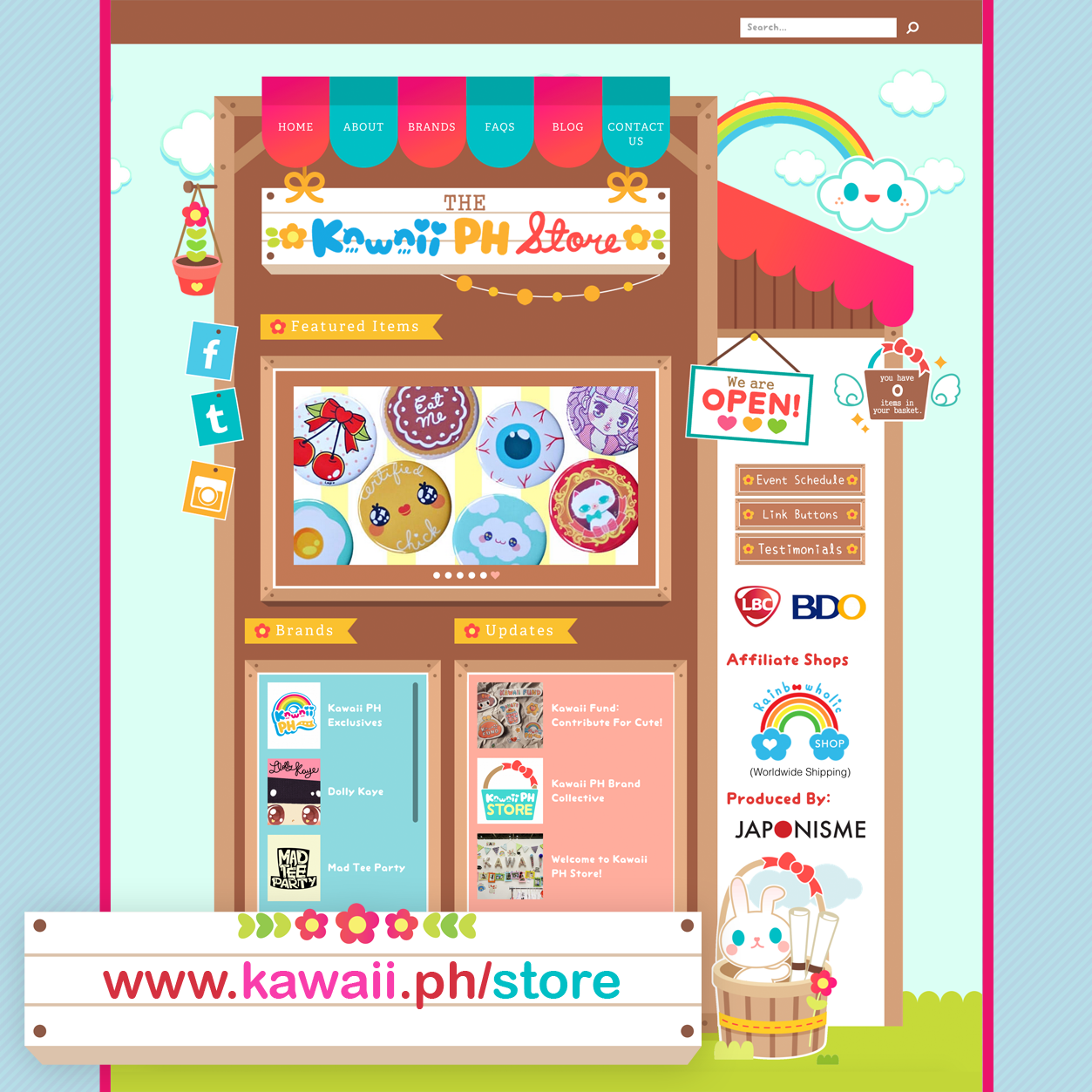 KAWAII PH STORE Launch Poster