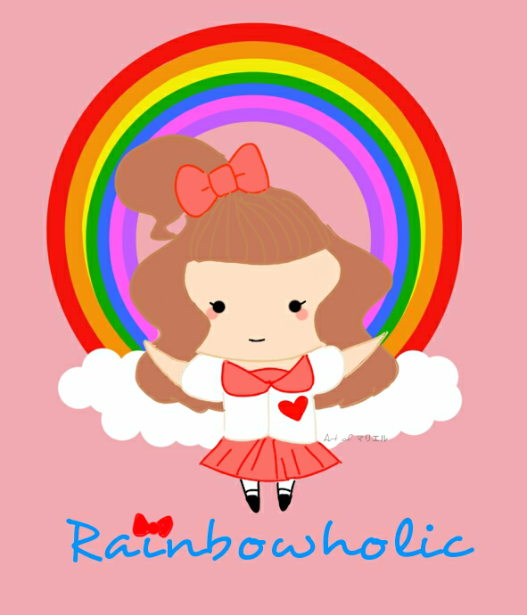 kawaii rainbowholic by marielle