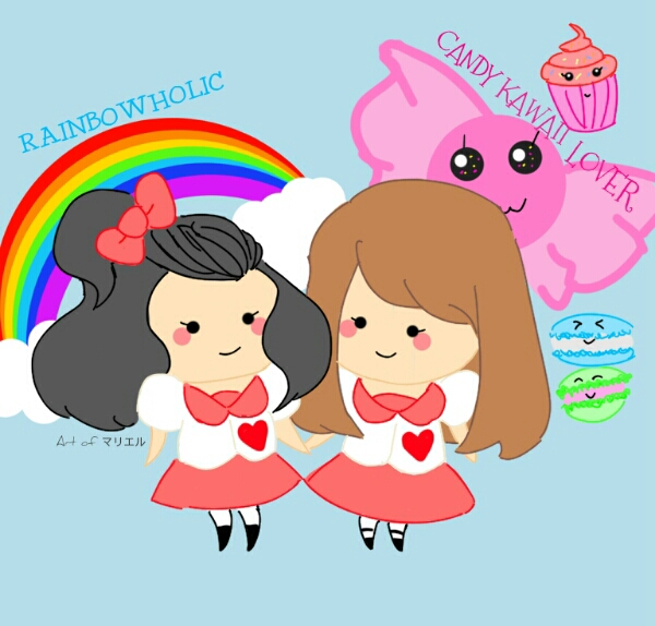 rainbowholic candy kawaii lover