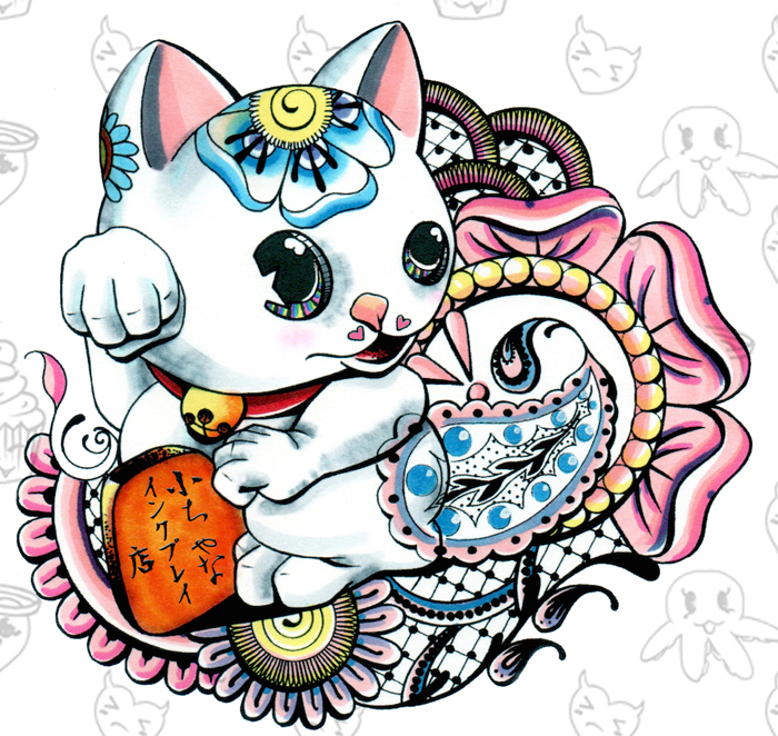 manekineko logo (Jap. version)