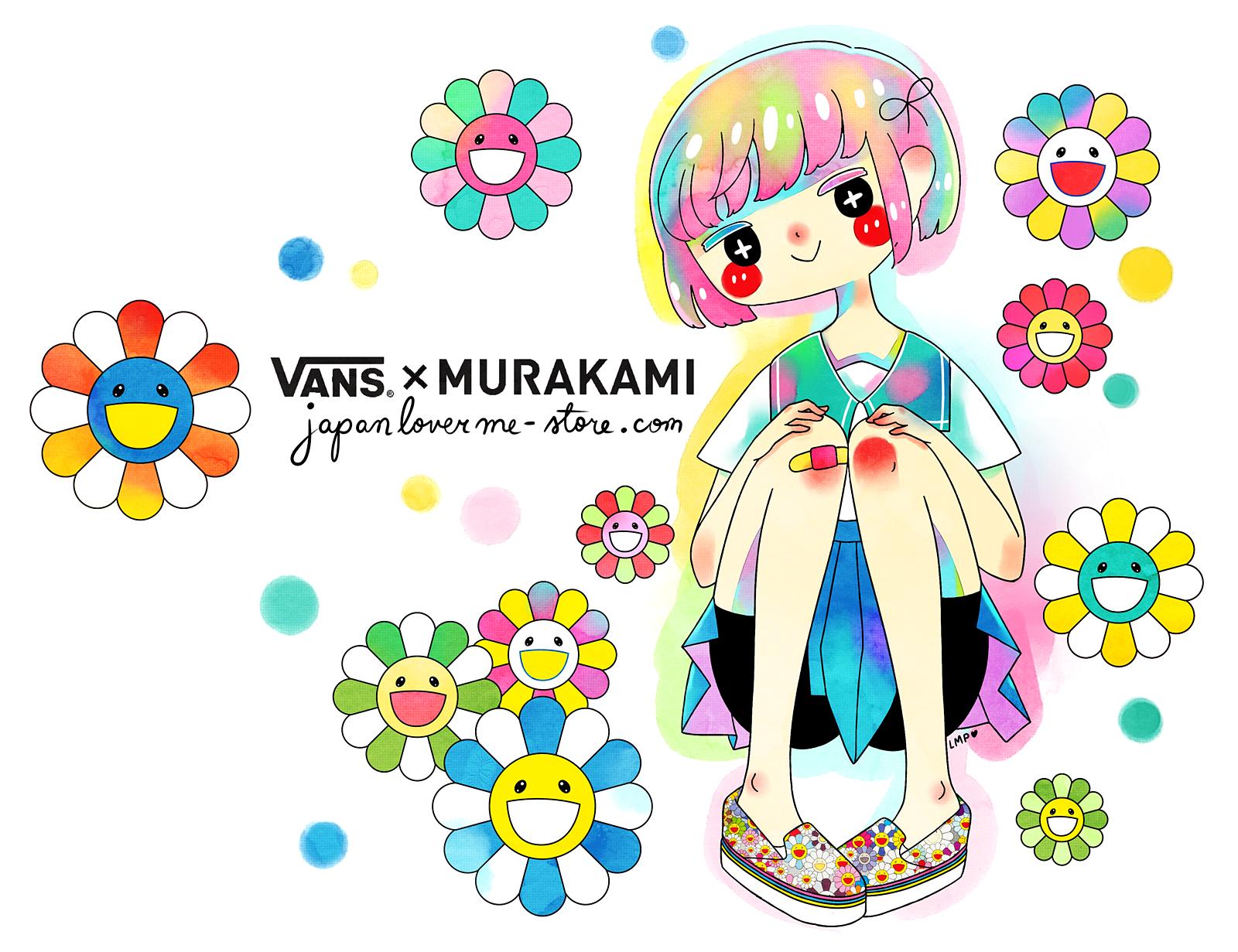 murakami vans illus - banner