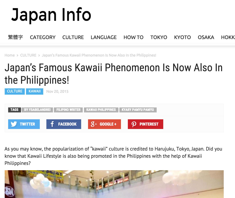 Japan Info - Kawaii Philippines