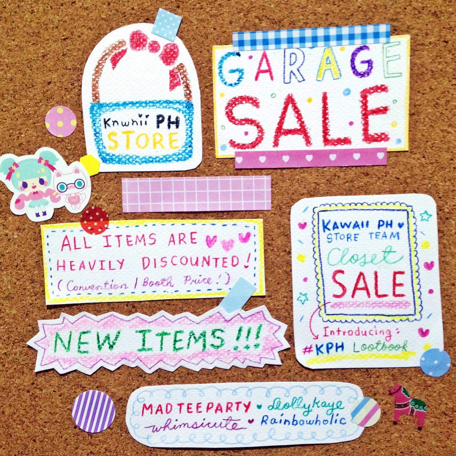 Kawaii PH Store Garage Sale