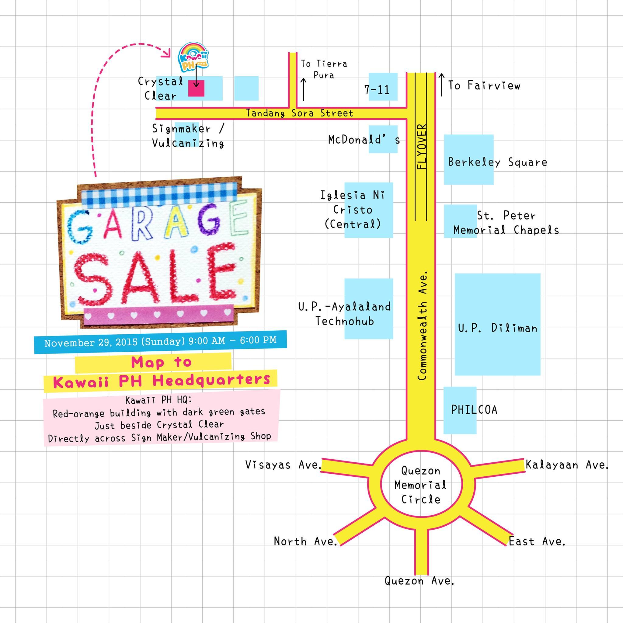 kawaiiphstore garage sale
