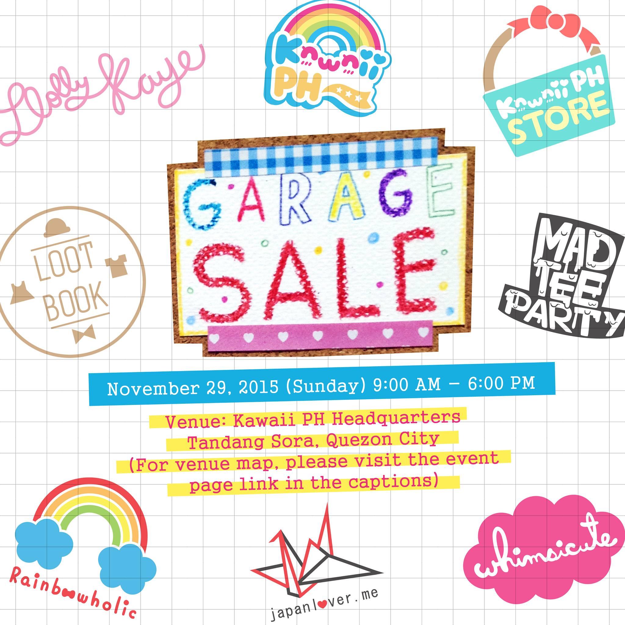 kawaiiphstore garage sale2