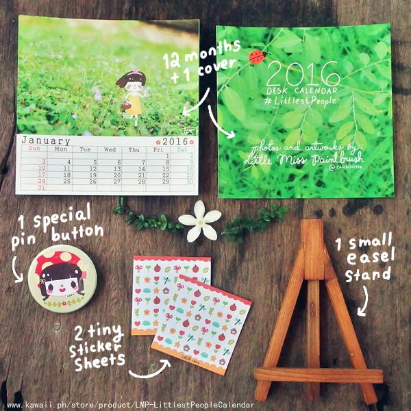 littlest people calendar 2015 - 01