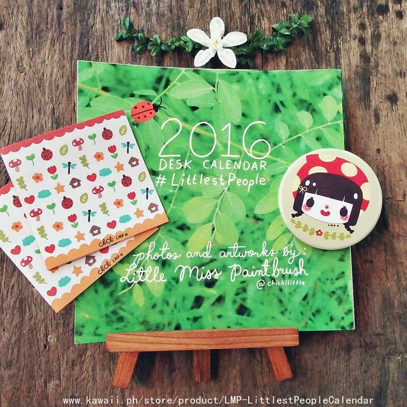 littlest people calendar 2015 - 02