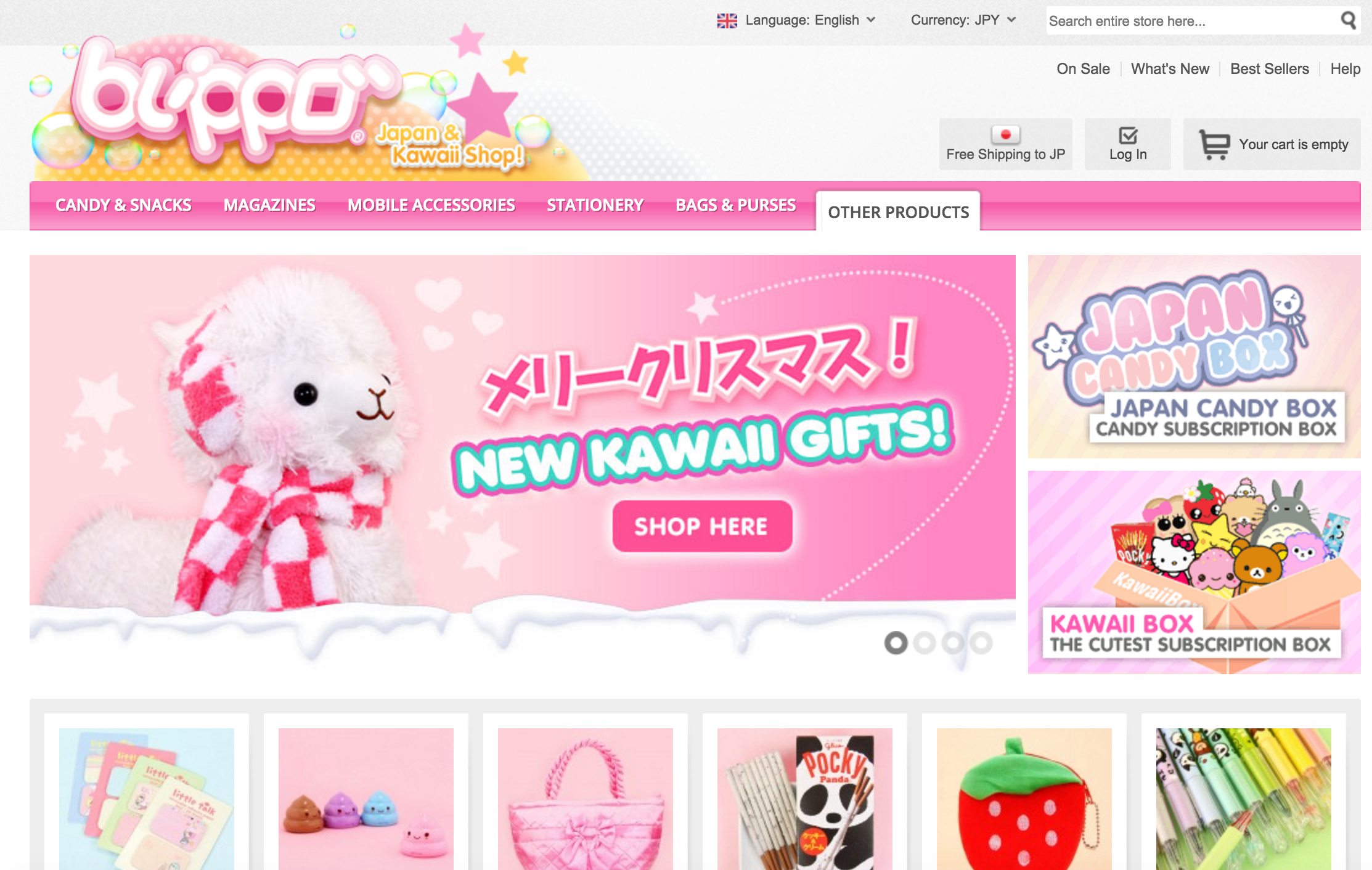 Blippo Kawaii Shop Rainbowholic
