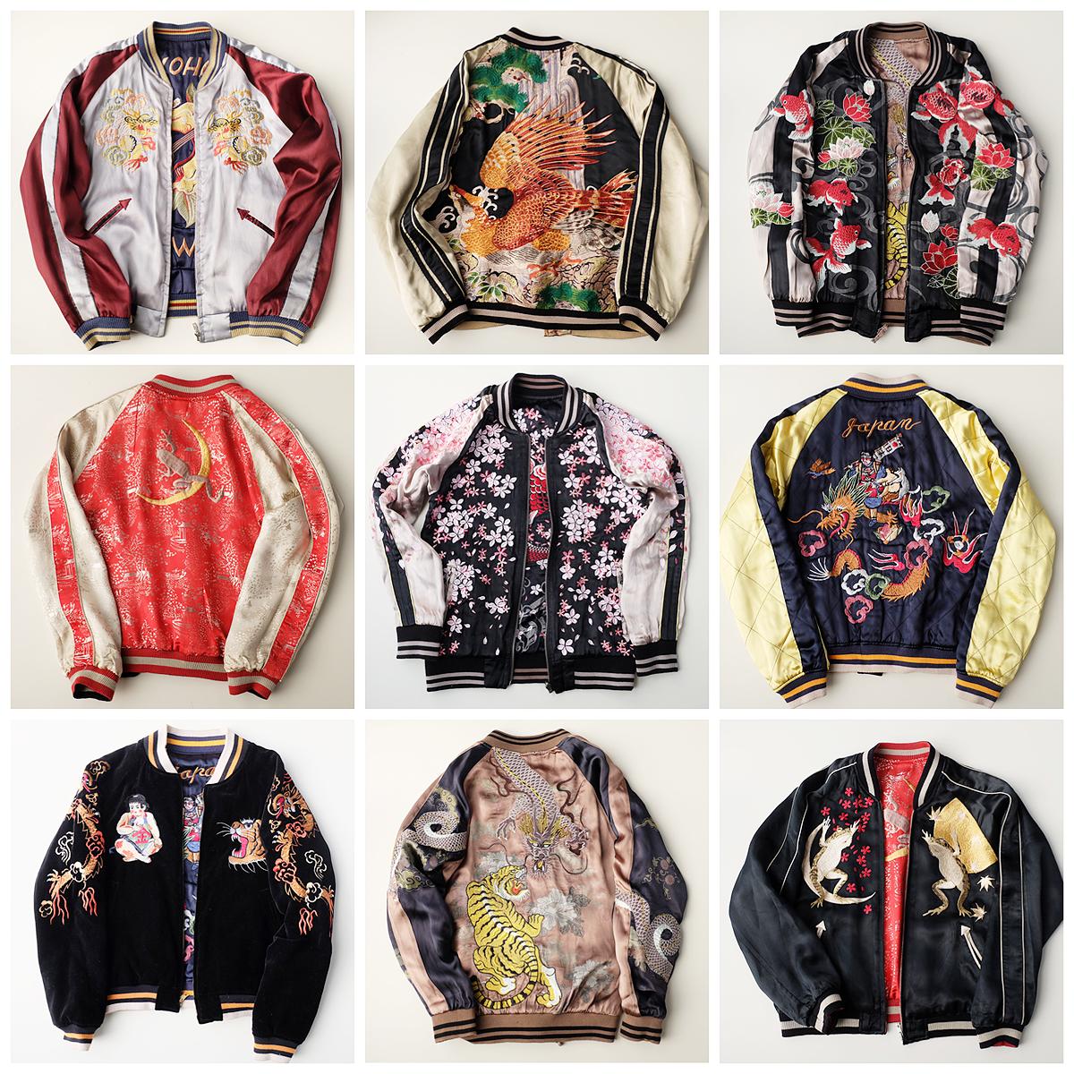 Sukajan Skajan Japanese Souvenir Jackets
