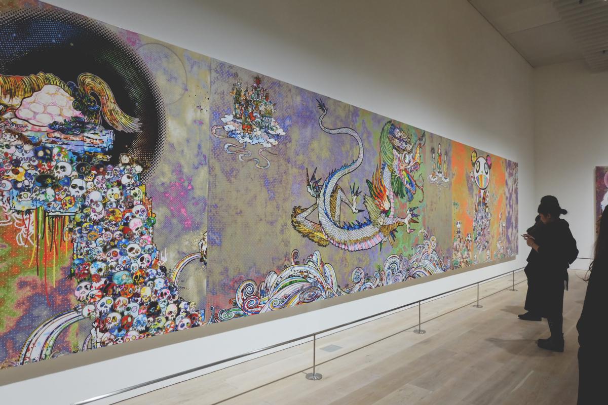 DSCF4274 the 500 arharts mori art museum takashi murakami