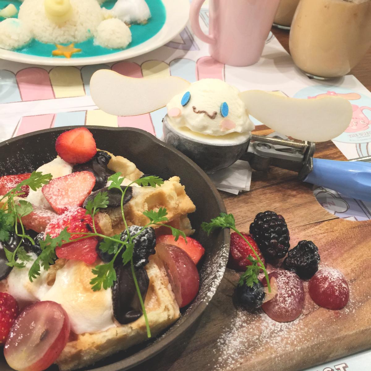 Photo 1-9-16, 11 40 52 AMcinnamoroll cafe kiddyland harajuku kawaii