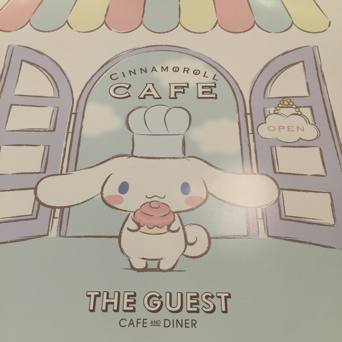 Photo 12-31-15, 5 02 56 PMkawaii cinnamoroll cafe shibuya