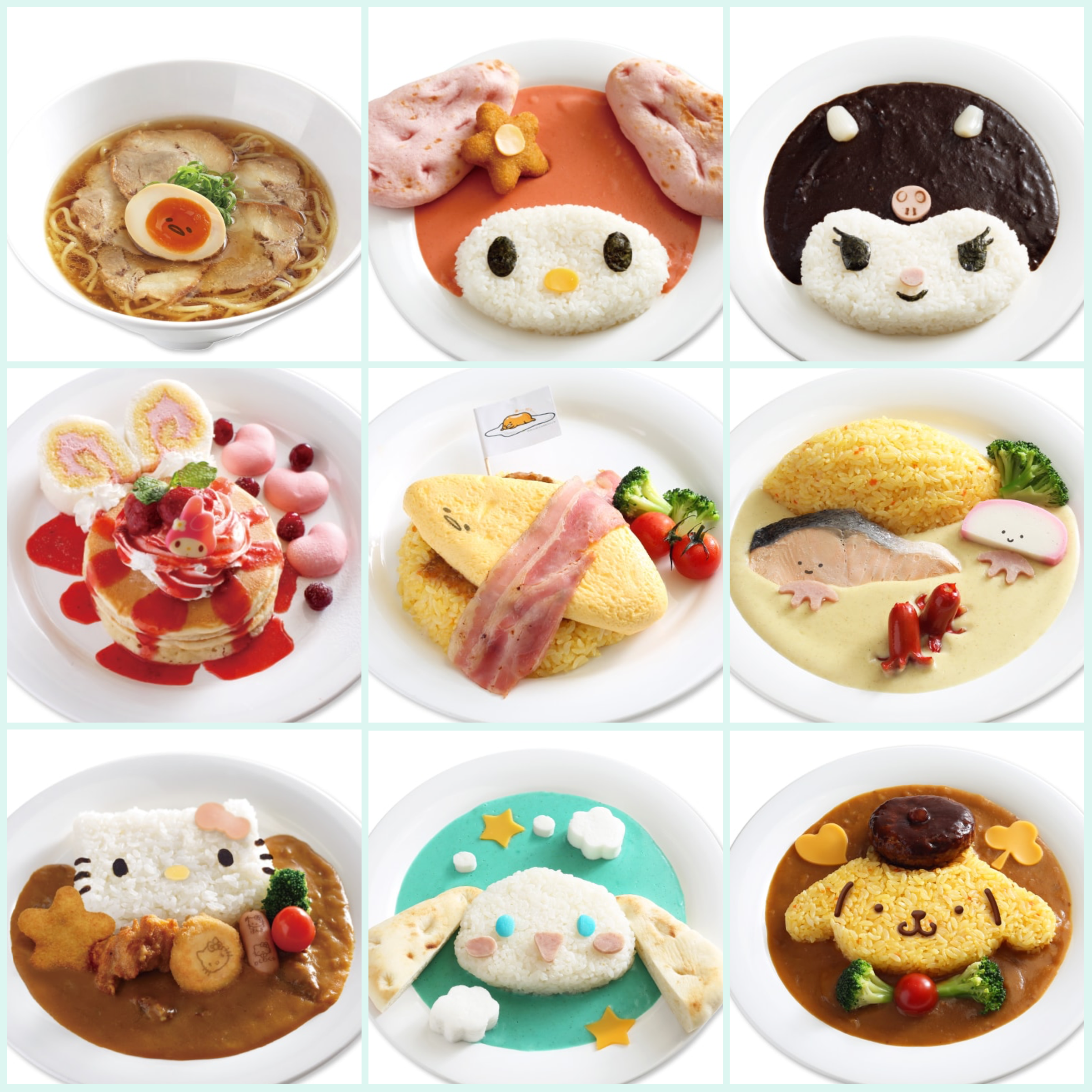 Sanrio Puroland Kawaii Food