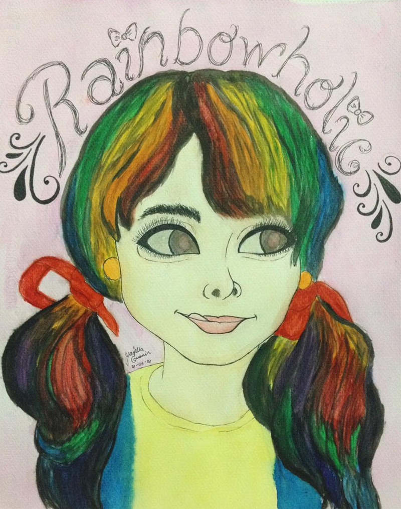 rainbowholic by ella