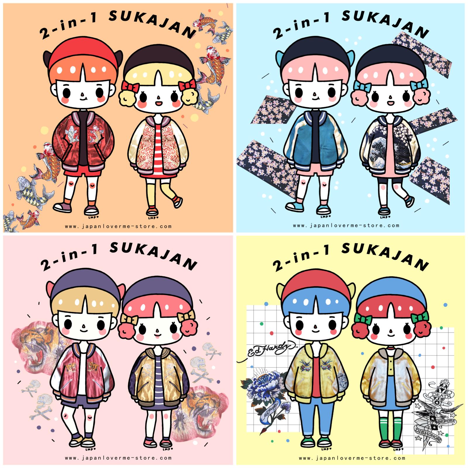 sukajan skajan souvenir jacket japan lover me store