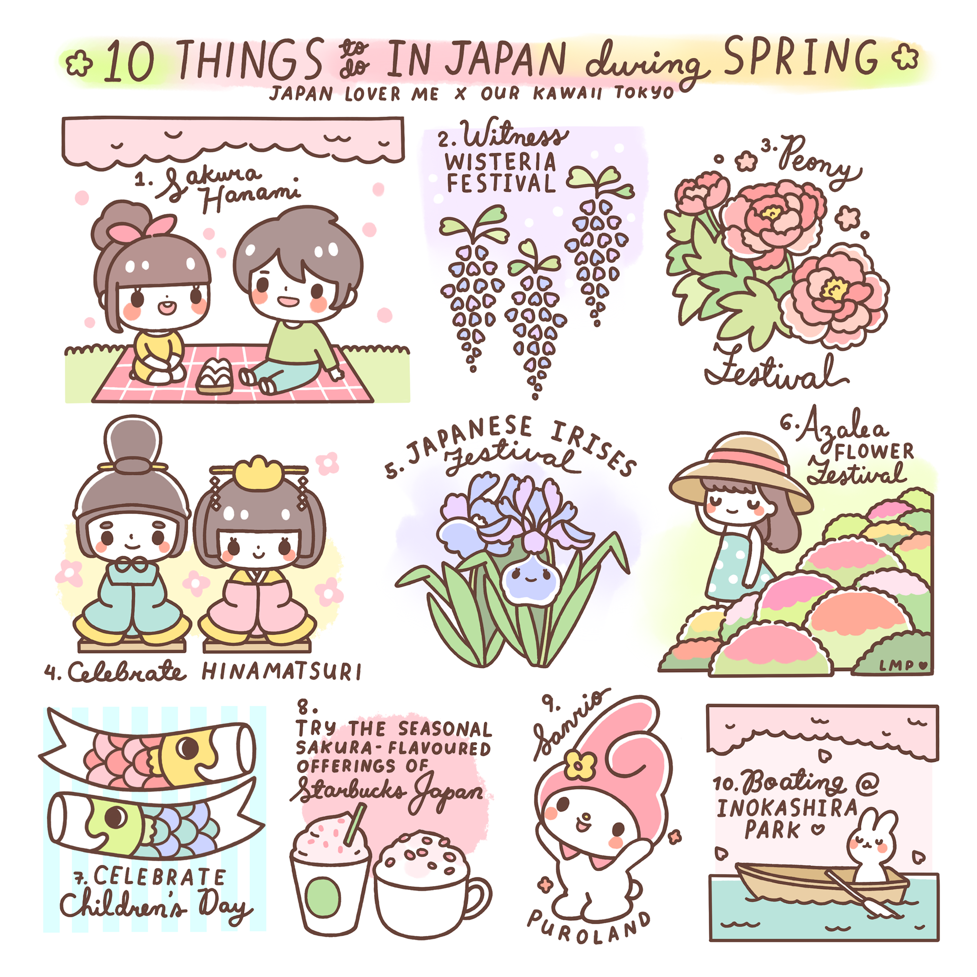 things to do in spring sakura season cherry blossoms our kawaii tokyo japan lover me
