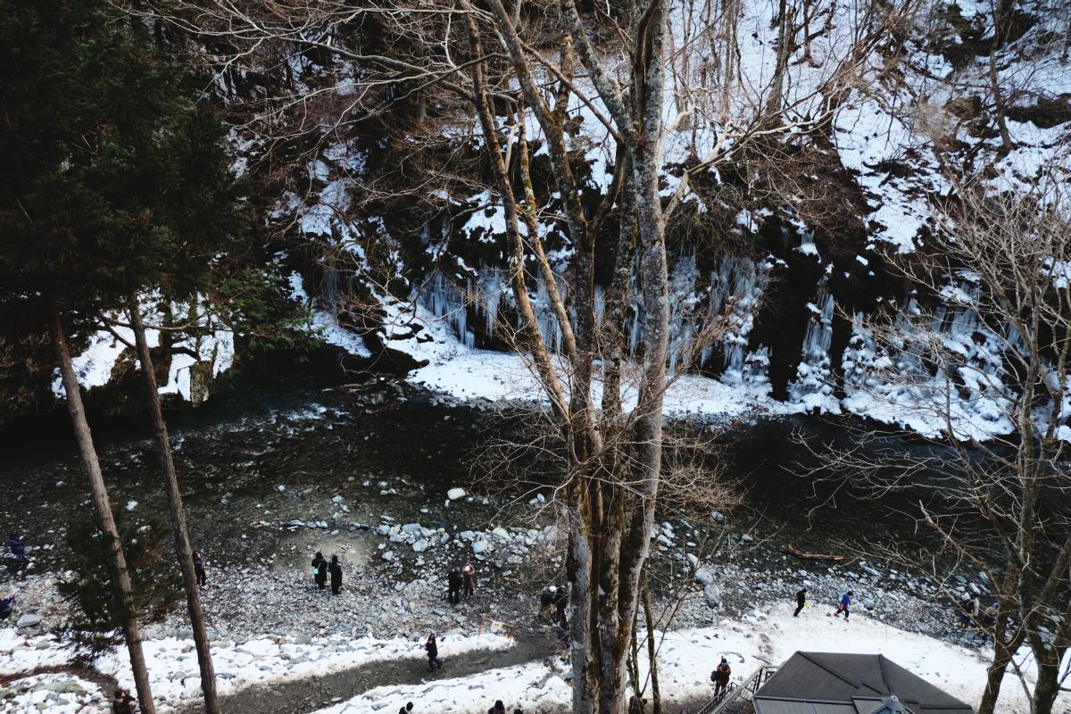 DSCF6278 icicles of misotsuchi chichibu saitama