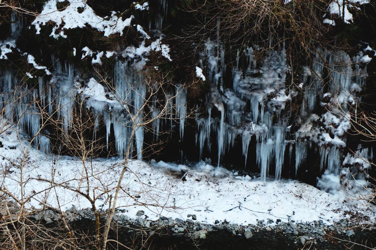 DSCF6279 icicles of misotsuchi chichibu saitama