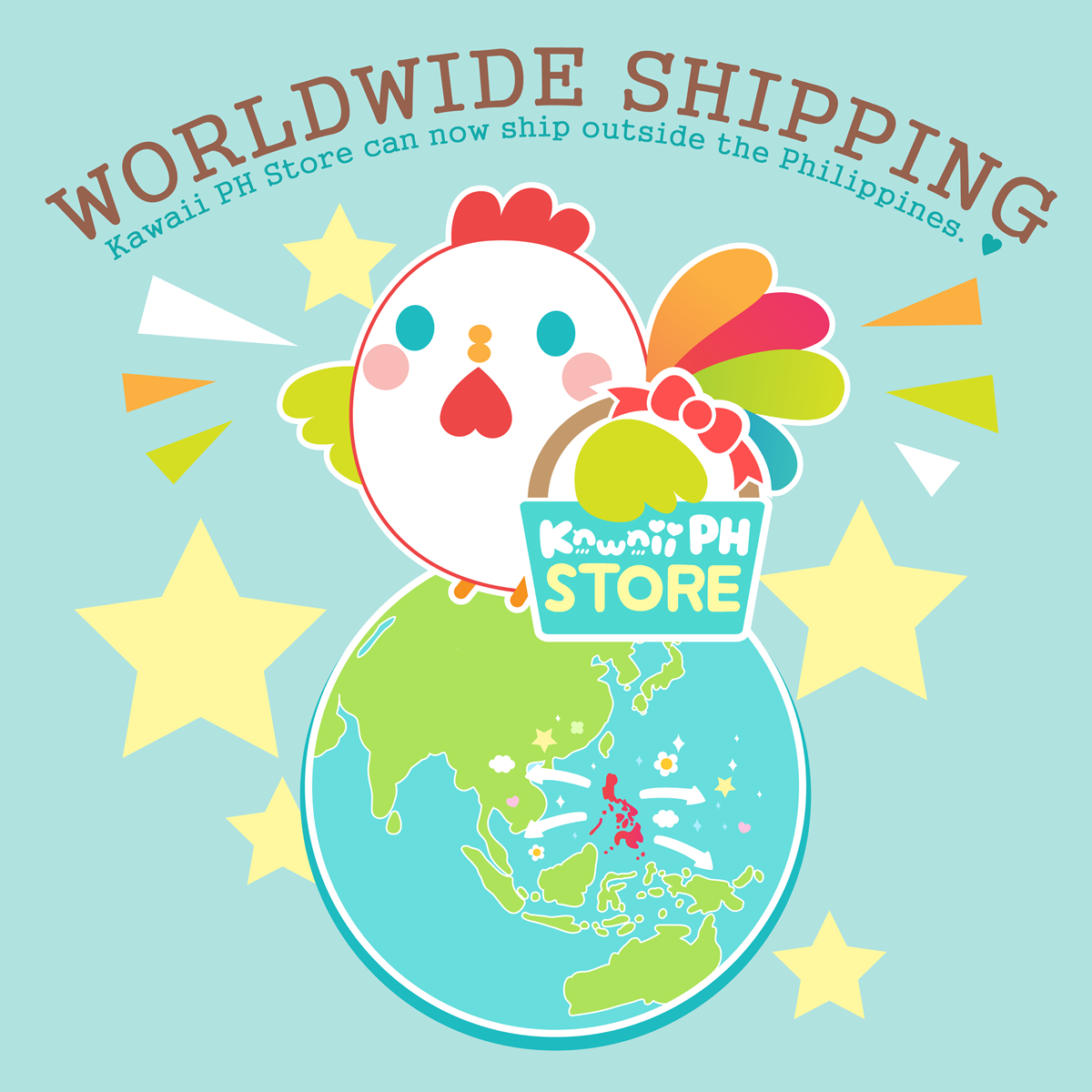 Kawaii PH Store Worldwide Shipping