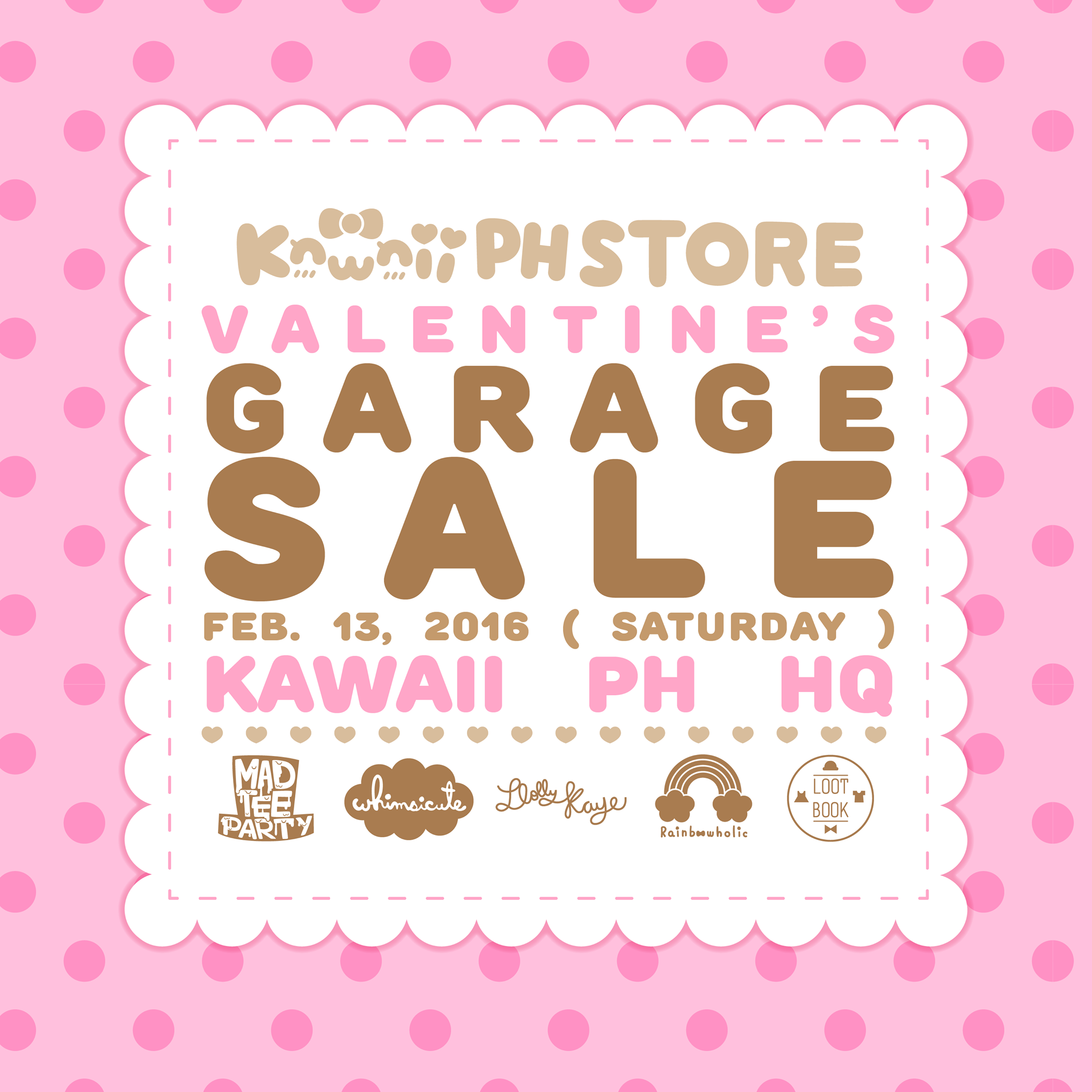 kawaii ph store valentine's garage sale