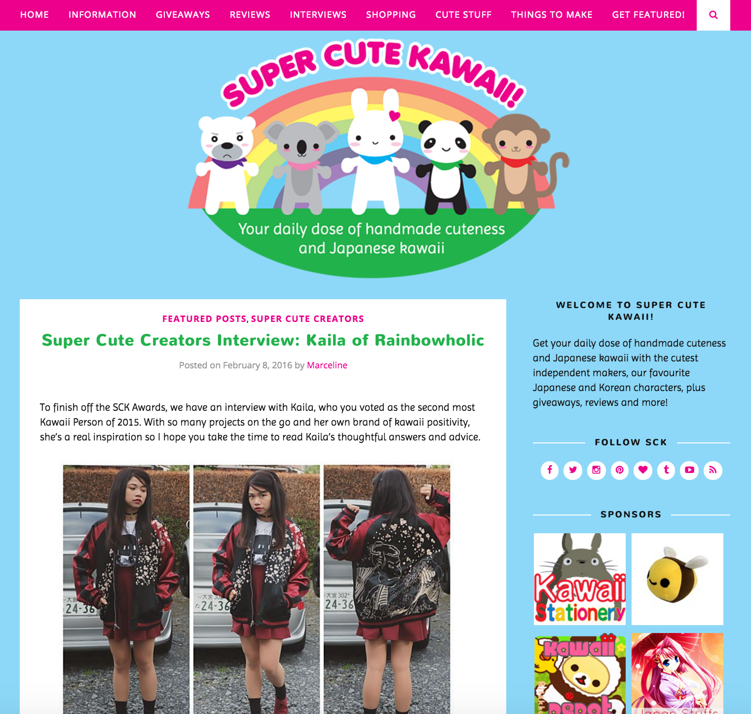 super cute kawaii - kaila rainbowholic