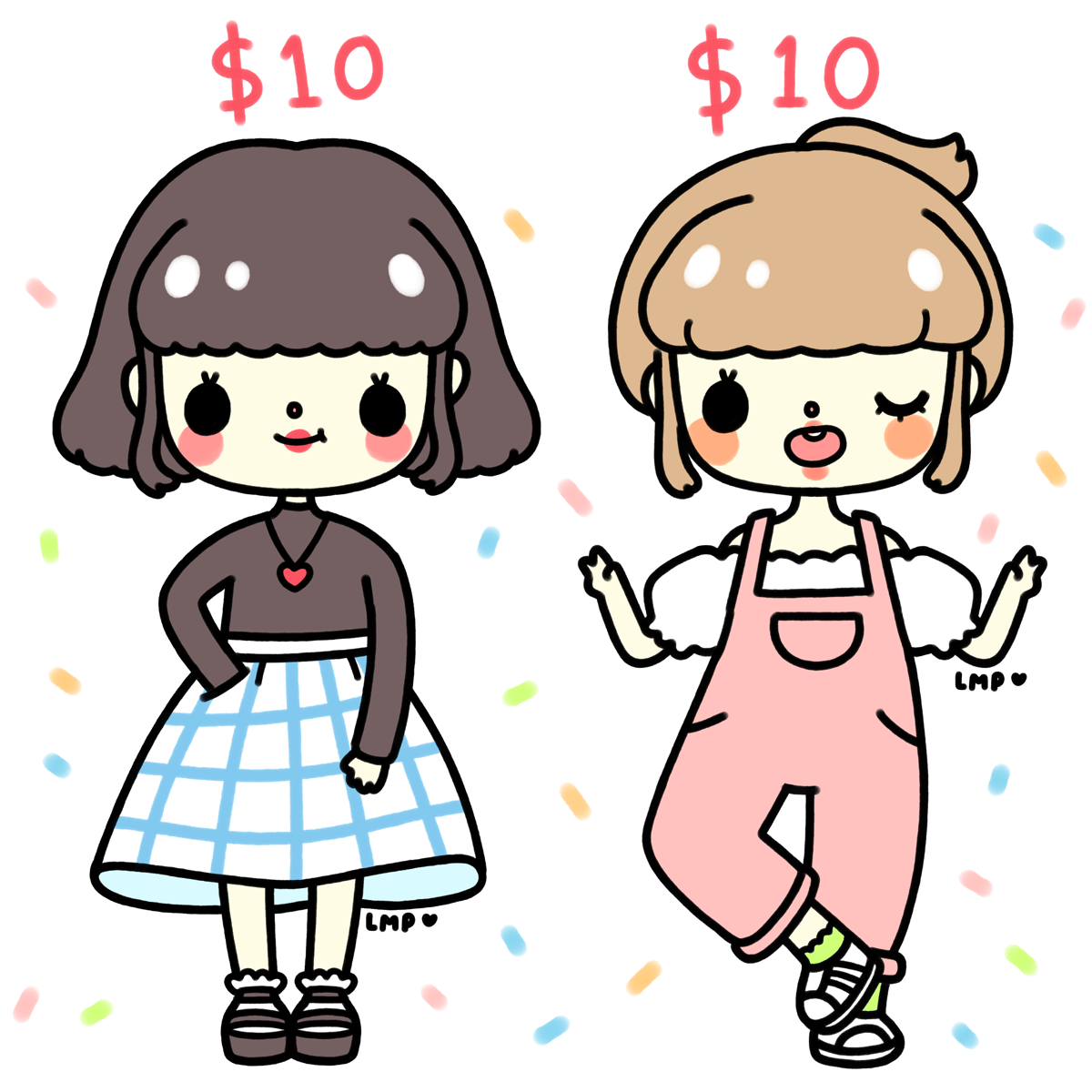 10 dollar commissions