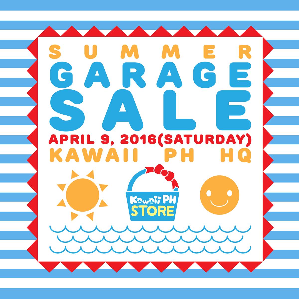 Kawaii PH Store Summer Garage Sale