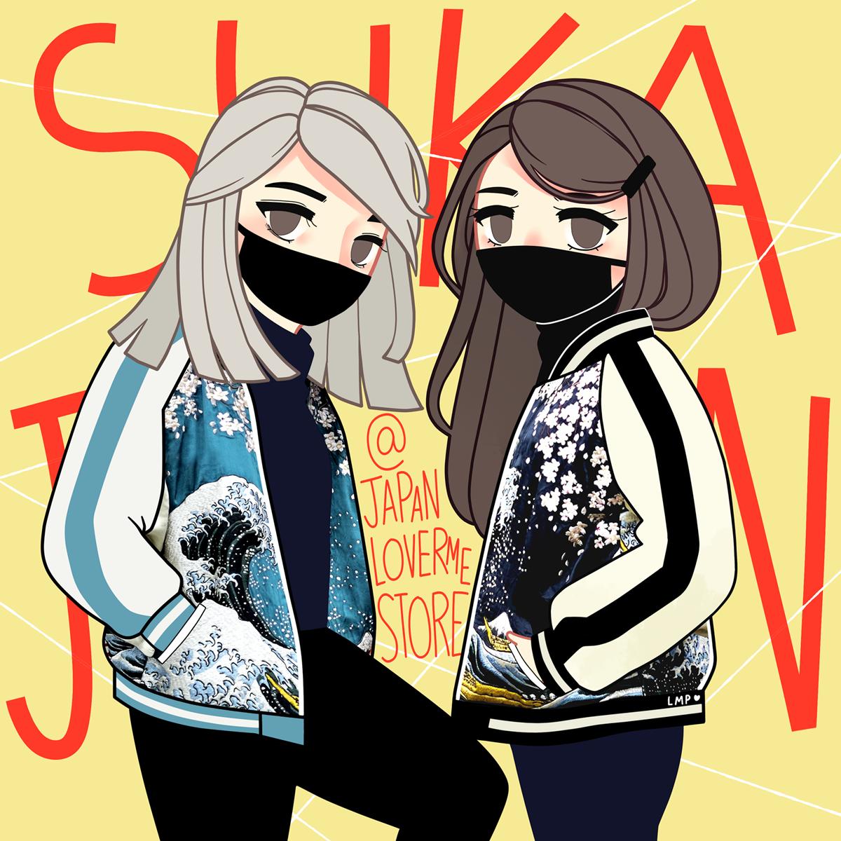 SOUVENIR JACKET Japan Lover Me Store Fuji Q Sukajan Kaila Reese Square 1600px
