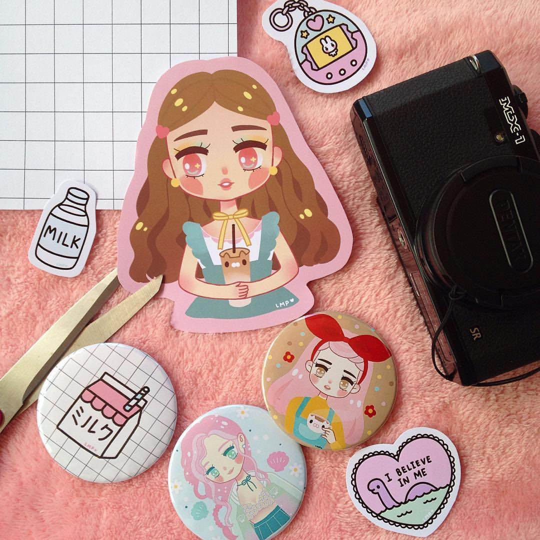 chichi little whimsicute stickers