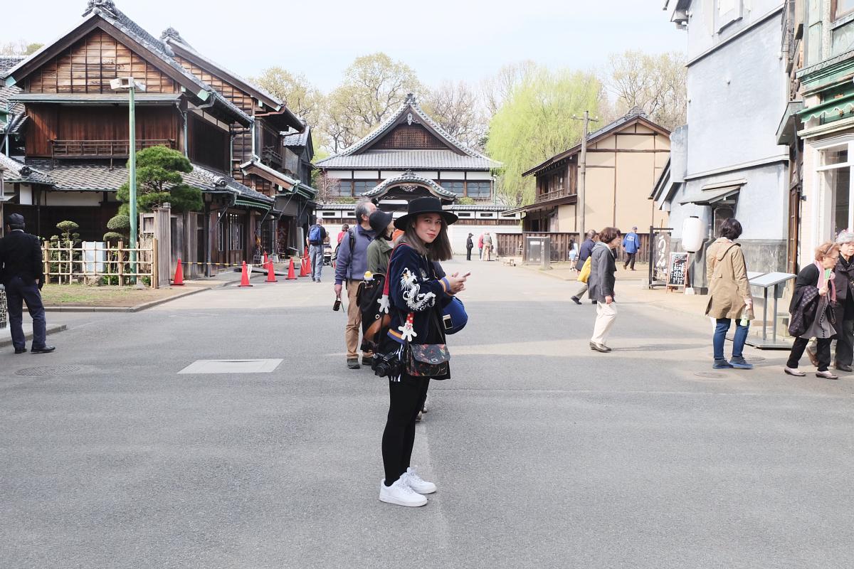 Edo Tokyo Museum Cherry Blossoms 17