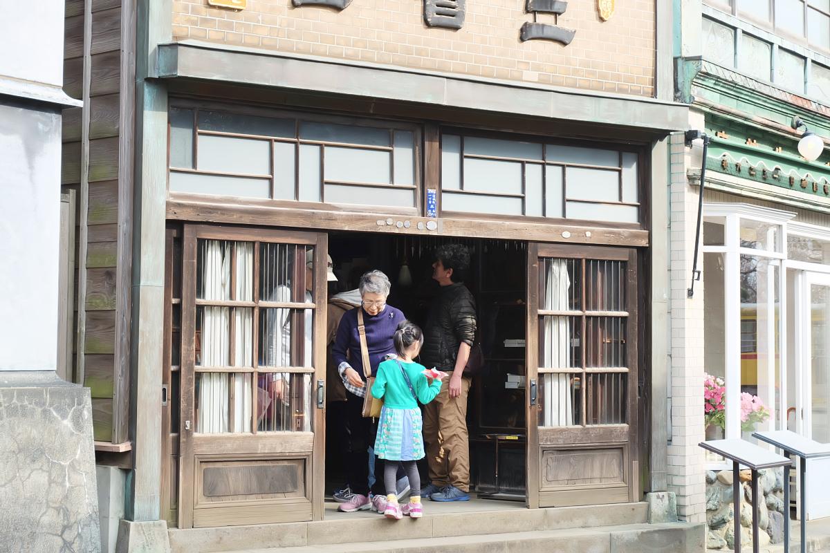 Edo Tokyo Museum Cherry Blossoms 51