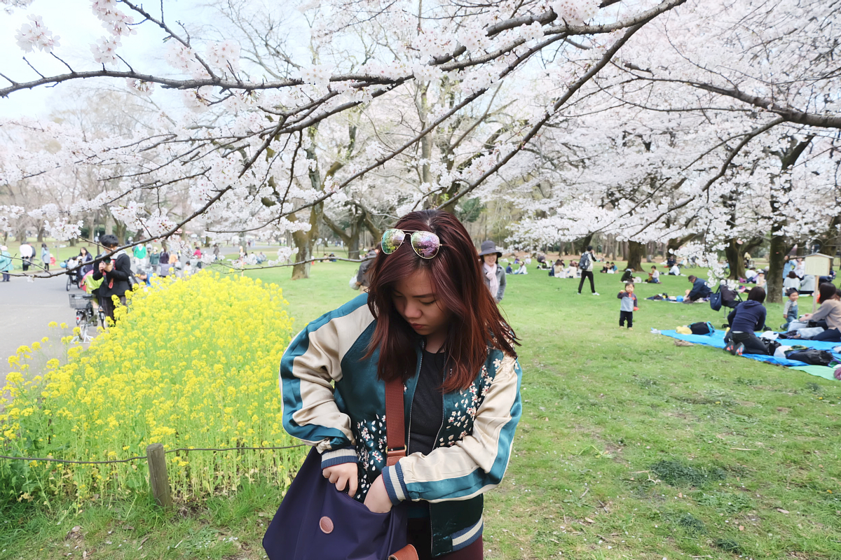 Edo Tokyo Museum Cherry Blossoms 62