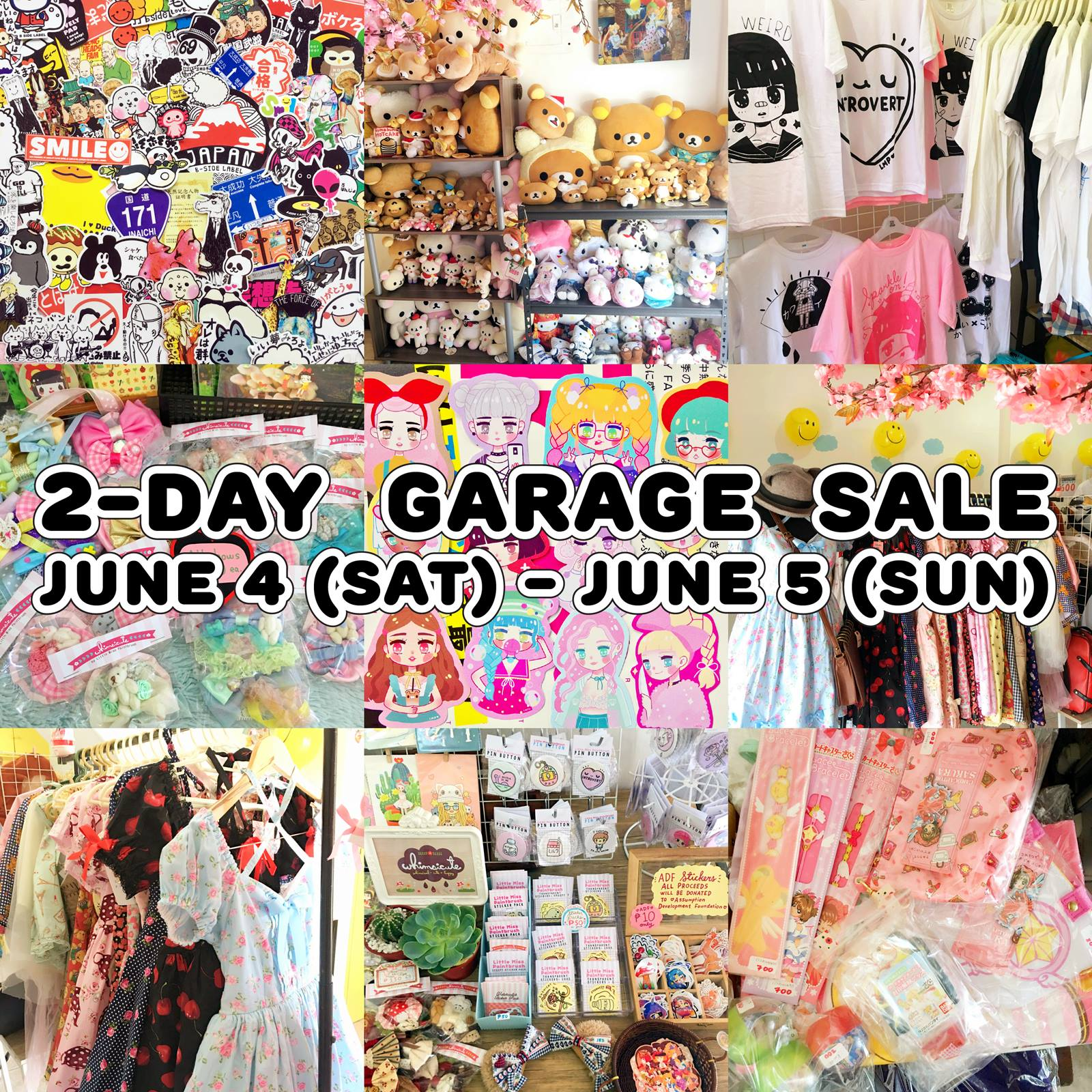 Kawaii PH Store Garage Sale JUNE