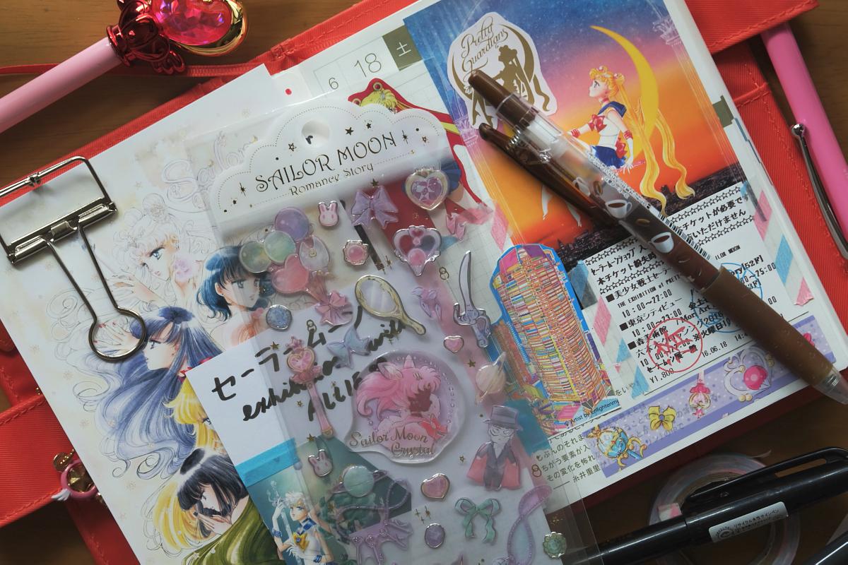 DSCF5180 sailormoon hobonichi diary