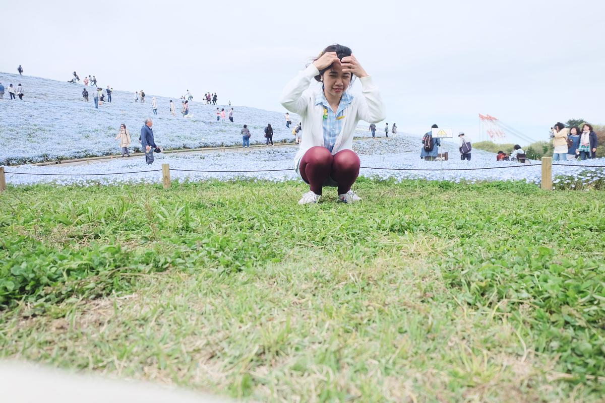 Nemophila Hitachi Seaside Park Rainbowholic Japan Kawaii 71