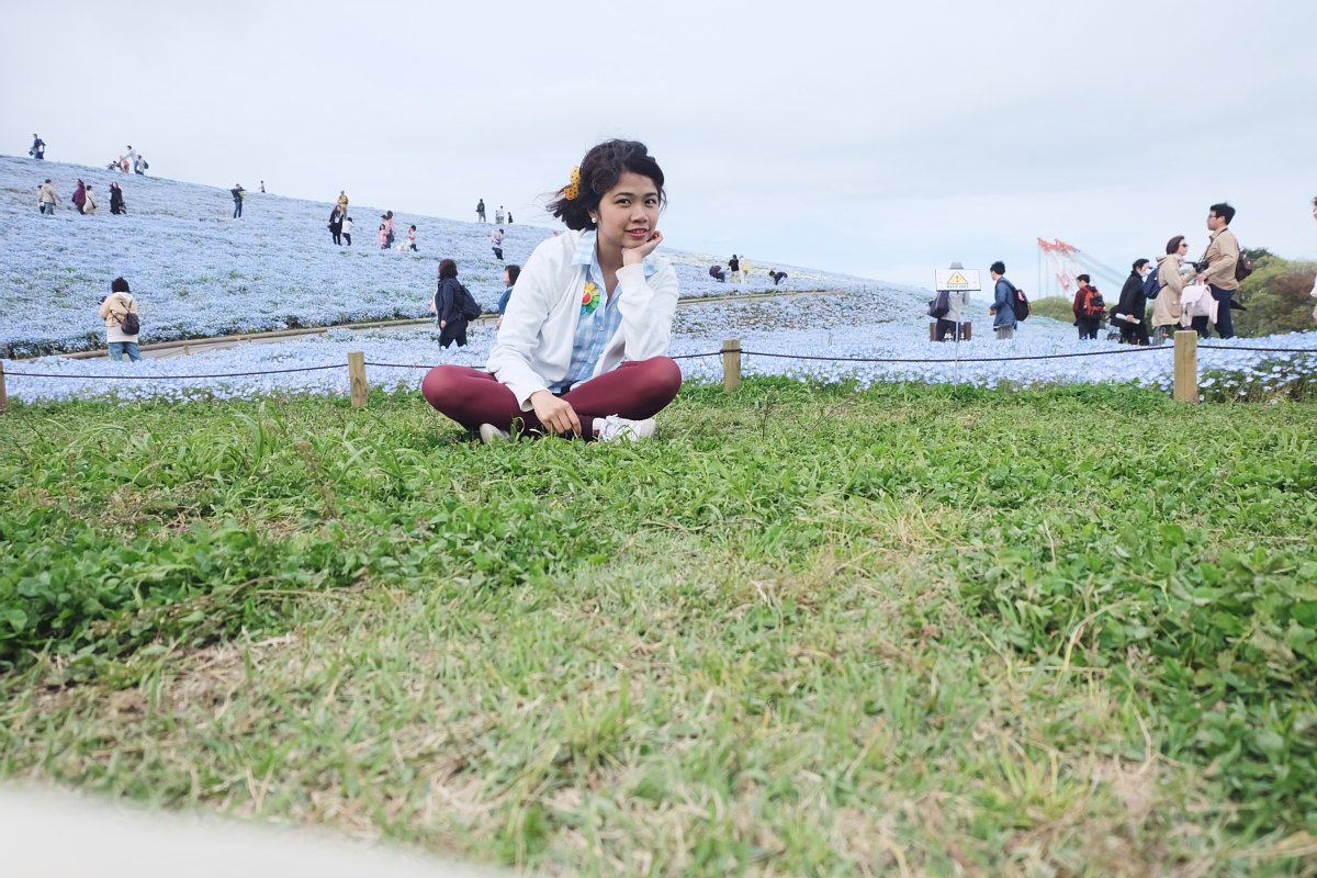 Nemophila Hitachi Seaside Park Rainbowholic Japan Kawaii 72