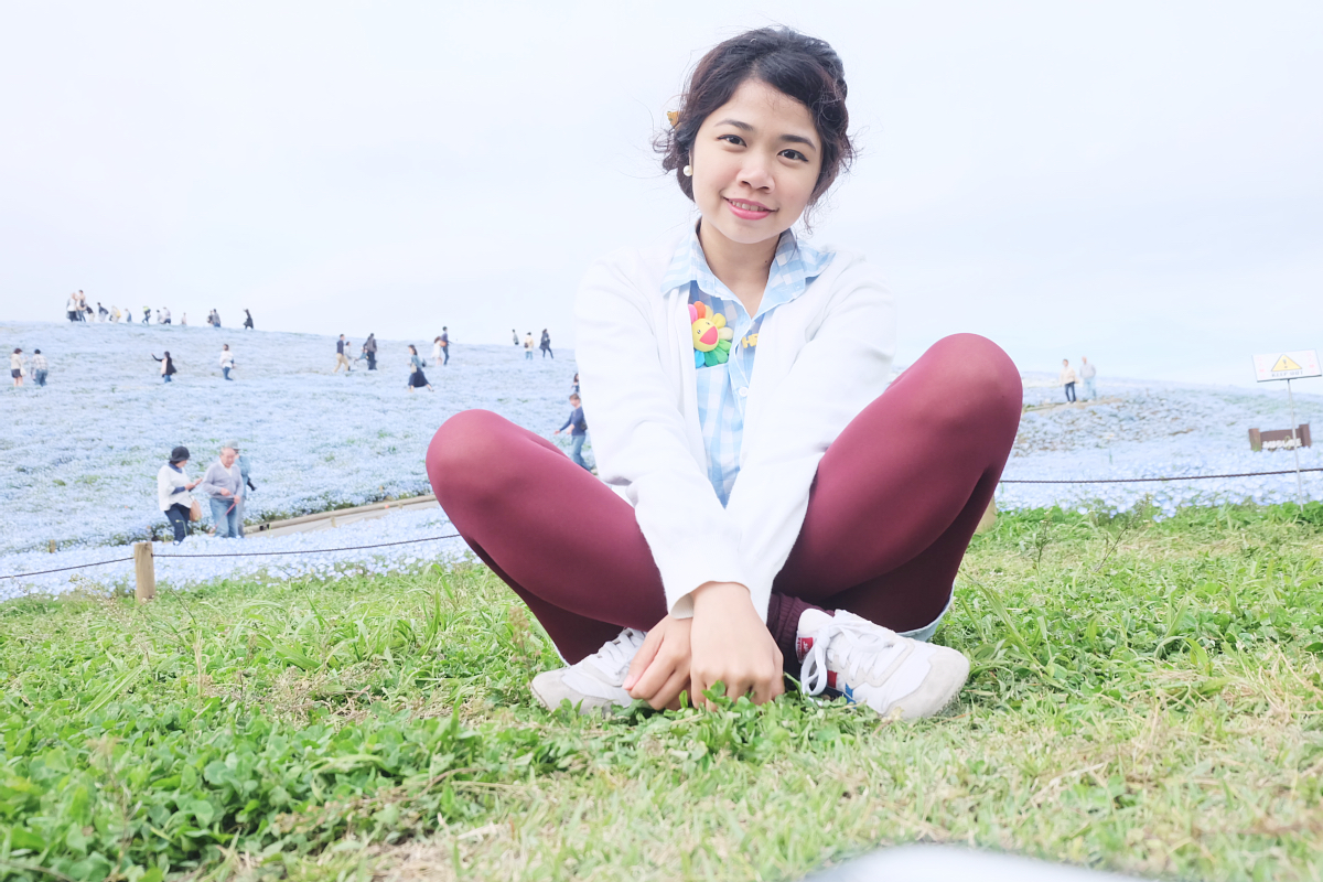 Nemophila Hitachi Seaside Park Rainbowholic Japan Kawaii 74