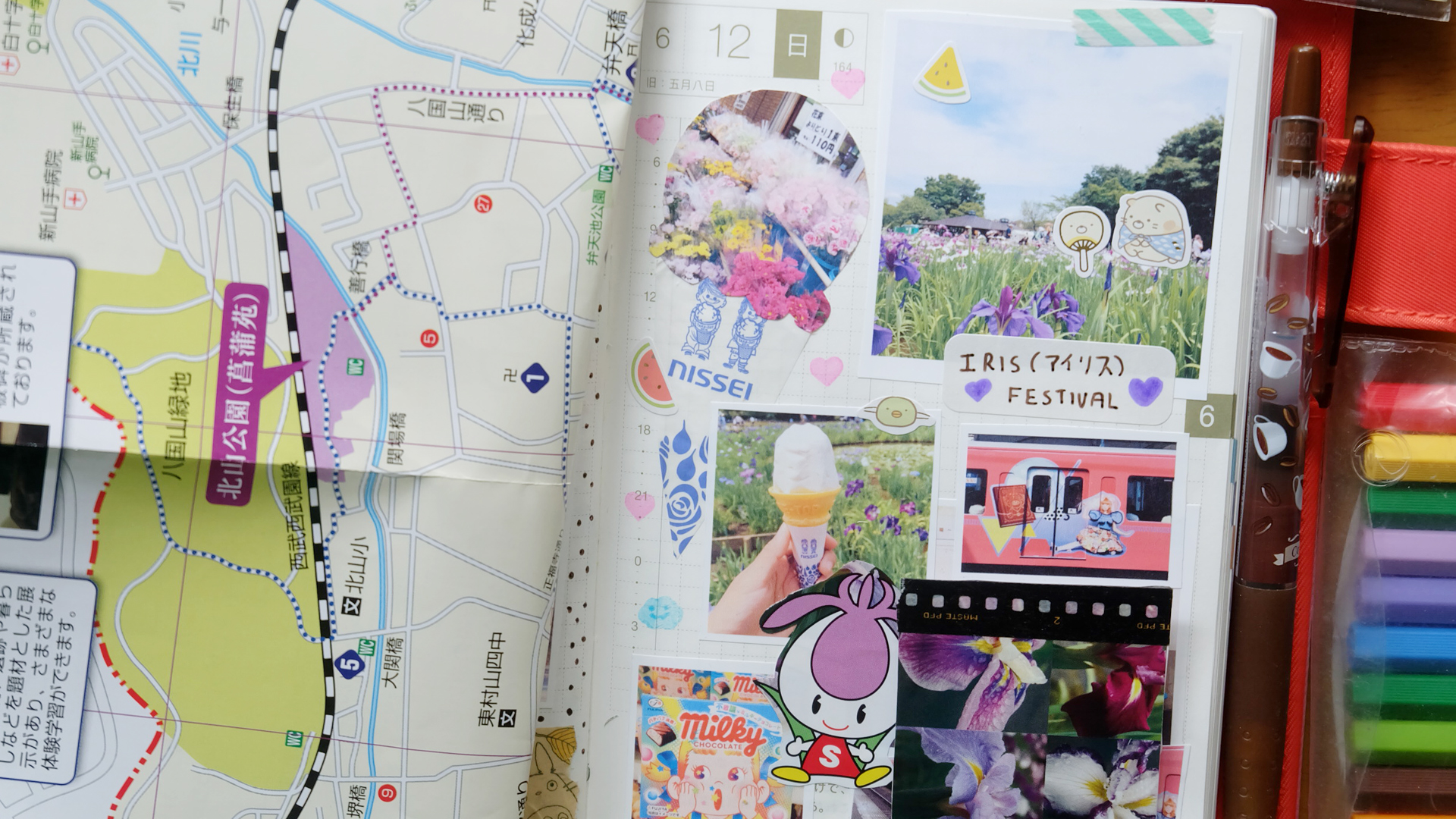 hobonichi june 12
