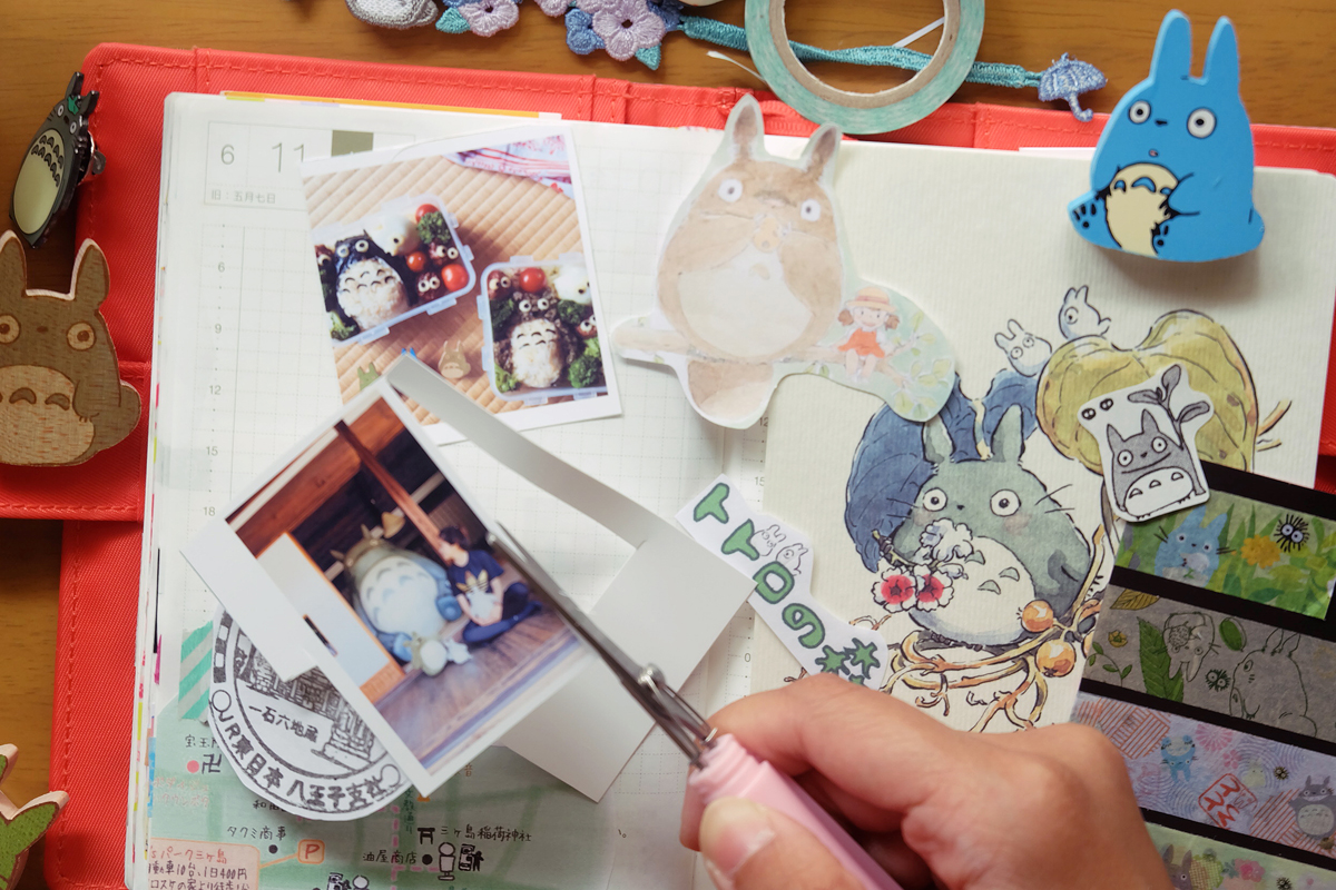 kawaii totoro hobonichi diary 3
