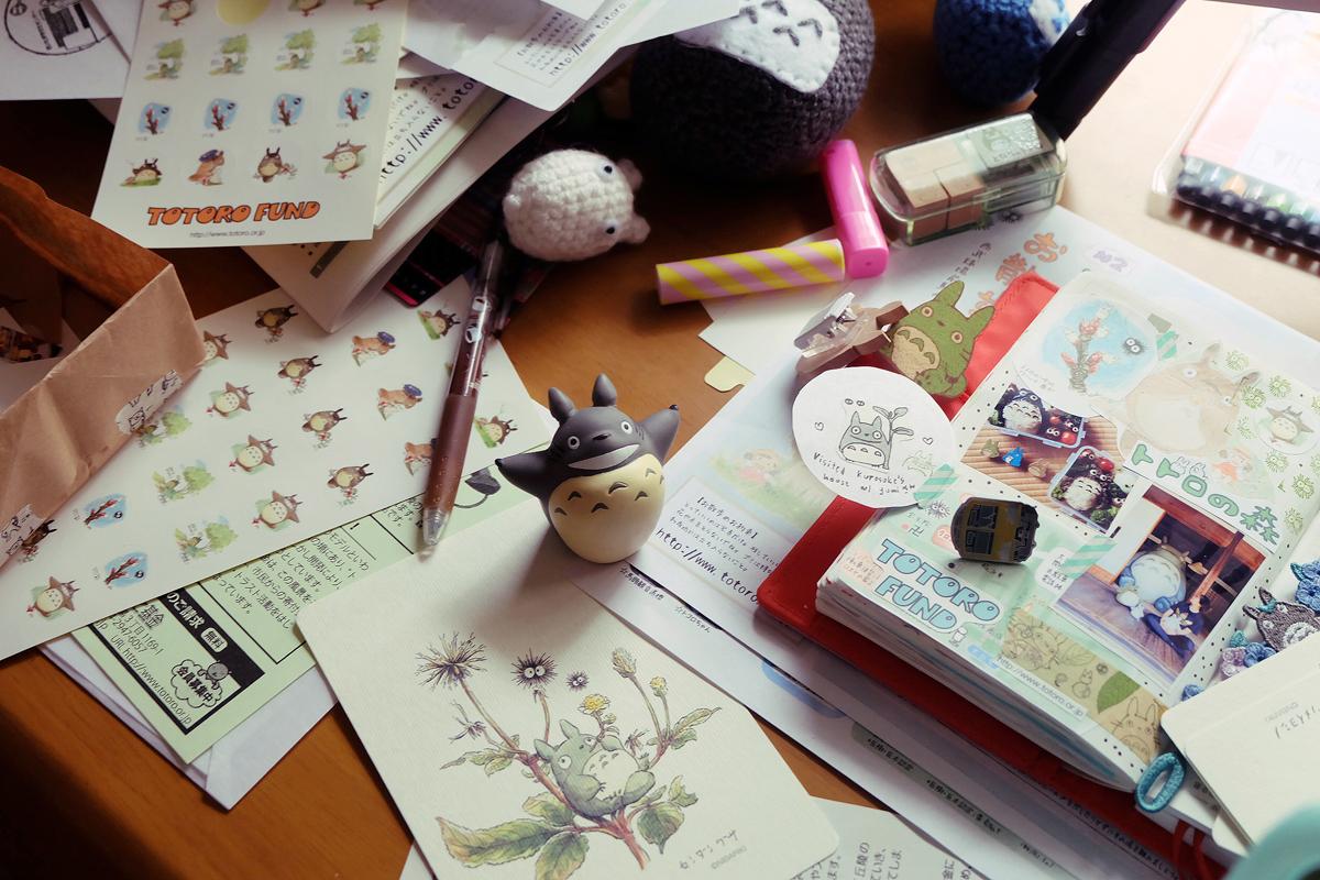 kawaii totoro hobonichi diary 5