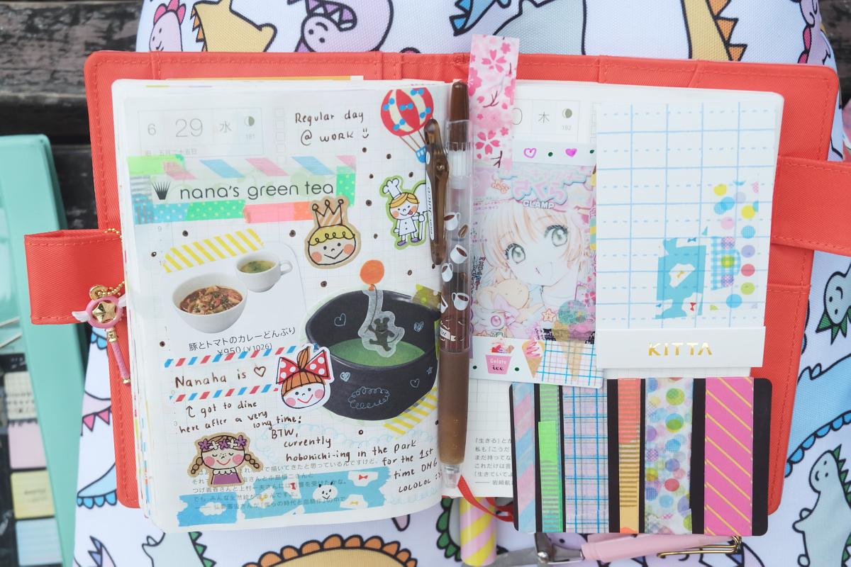 DSCF6903 kawaii hobonichi diary rainbowholic