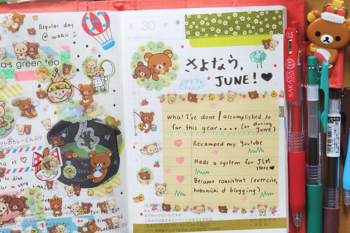 DSCF6948 kawaii hobonichi diary rainbowholic