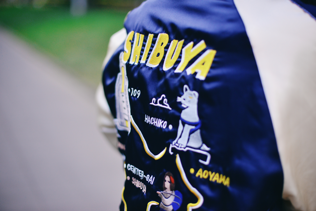 Japan Souvenir Jacket Sukajan JLM STORE41