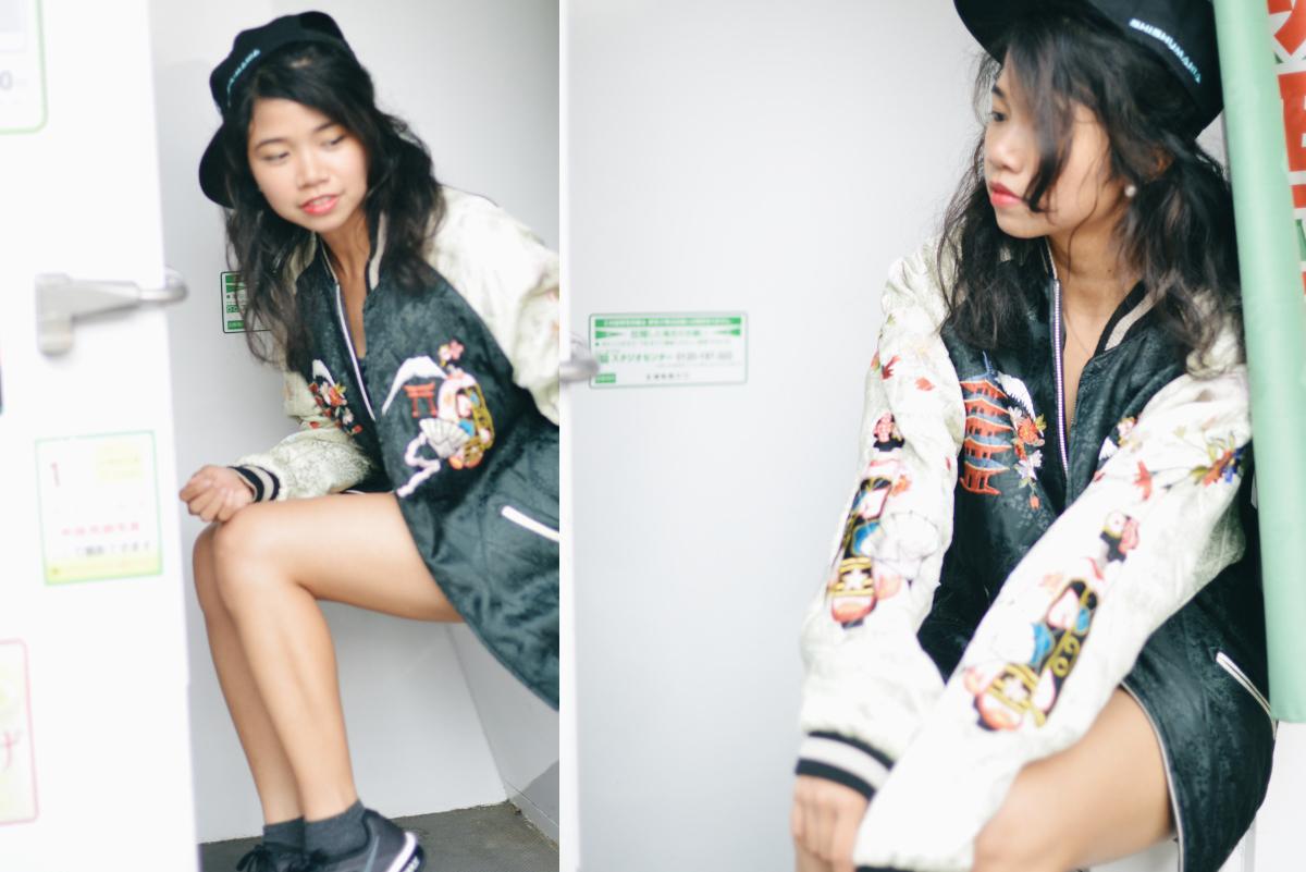 Japanese Souvenir Jacket Sukajan Skajan Shishumania 19