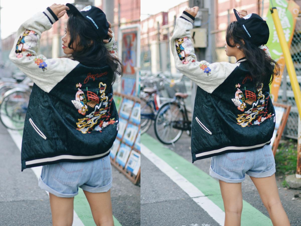 Japanese Souvenir Jacket Sukajan Skajan Shishumania 20
